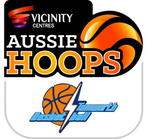 Aussie Hoops and Tamworth Basketball Association Logo