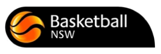 Basketball NSW Logo